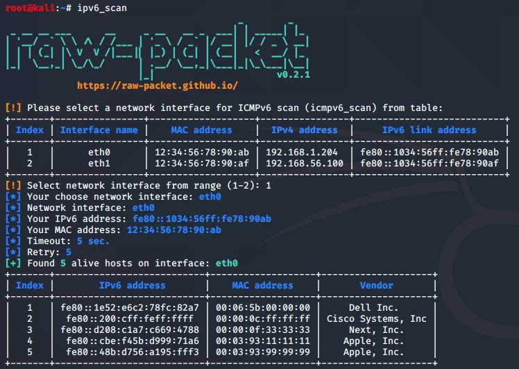 ipv6_scan output